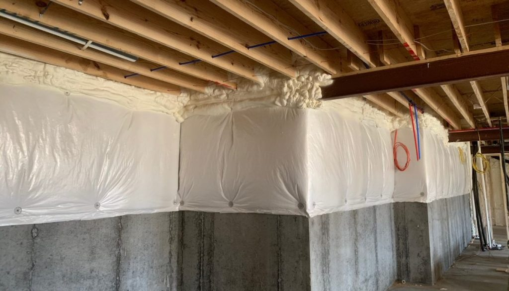 Insulating for Moisture Control