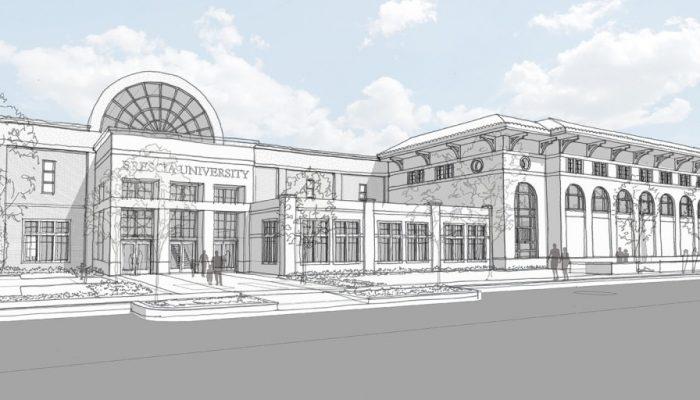 Brescia University rendering